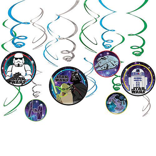 Star Wars Galaxy of Adventures Swirl Decorations, 12ct Image #1