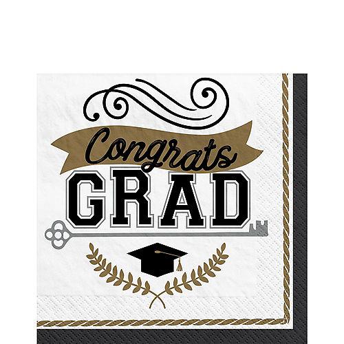 Achievement is Key Graduation Lunch Napkins, 6.5in, 100ct Image #1