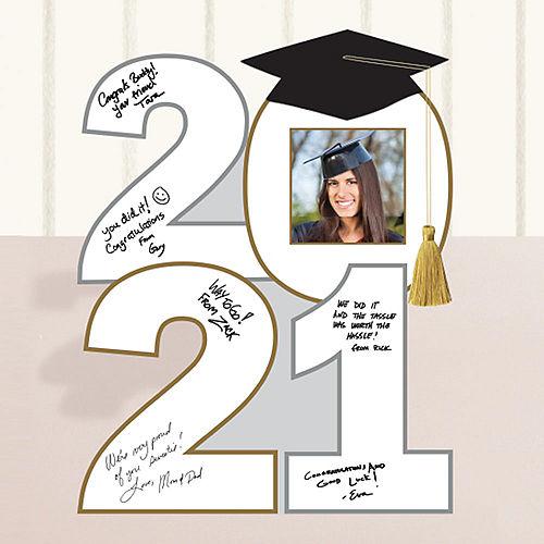 2021 Graduation Cardboard Autograph Sign Image #1