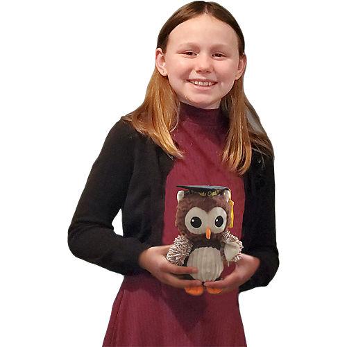 Brown Congrats Grad Owl Plush Image #2