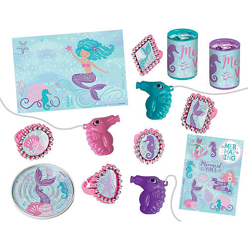 Shimmering Mermaids Favor Pack 48pc Image #1
