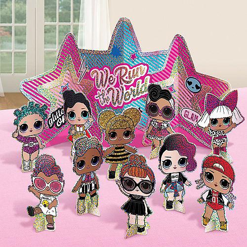 Glitter L.O.L. Surprise! Together 4-Eva Table Decorating Kit, 11pc Image #1