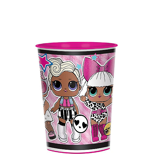 Metallic L.O.L. Surprise! Together 4-Eva Plastic Favor Cup, 16oz Image #1