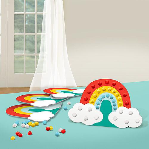 Retro Rainbow Craft Kit for 4 Image #1