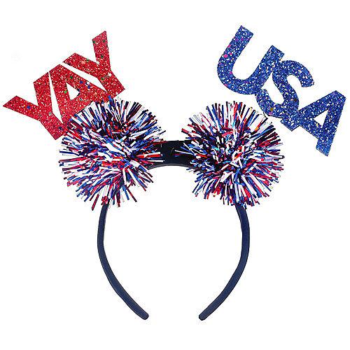 Light-Up Patriotic Yay USA Headbopper Image #1