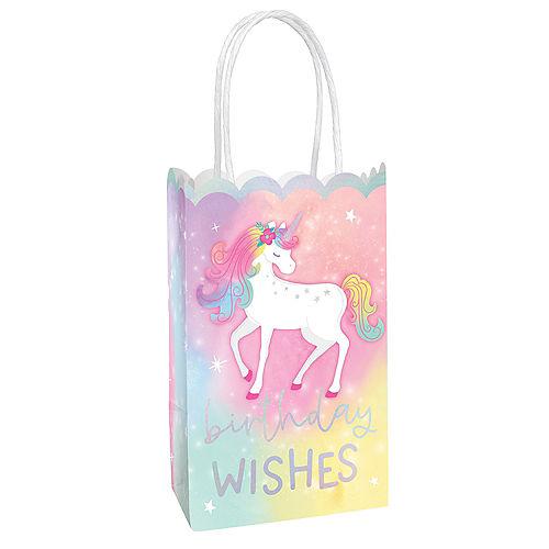 Enchanted Unicorn Kraft Bags, 10ct Image #1