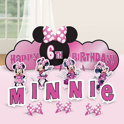 Minnie Mouse Forever Birthday Table Decorating Kit, 14pc Image #1