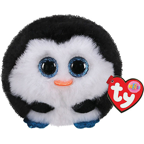 Waddles Penguin Plush - Ty Puffies Image #1