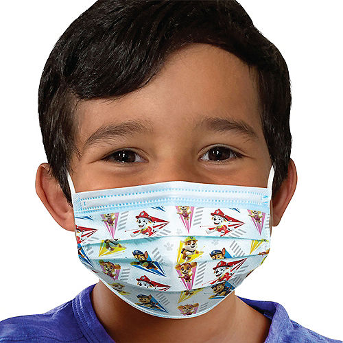 PAW Patrol Disposable Protective Face Masks for Kids, Ages 2-7, 14ct Image #1