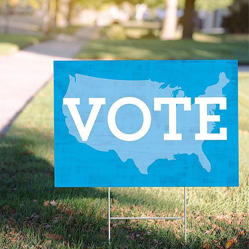 Blue USA Vote Yard Sign Image #1