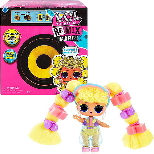 L.O.L. Surprise! Remix Hairflip Tots Mystery Pack Image #1