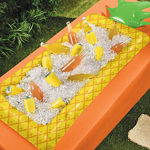 Inflatable Pineapple Buffet Cooler, 25.5in x 5.75ft Image #2
