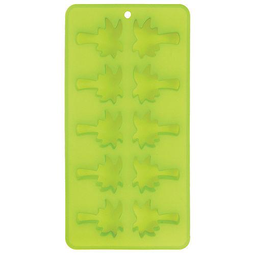 Green Palm Tree Silicone Ice Tray, 10 Cavities Image #1