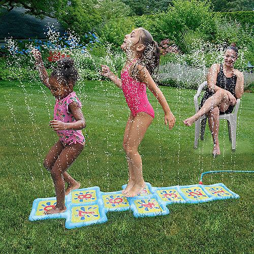 Hopscotch Splash Pad Sprinkler, 22.8in x 69.5in Image #1