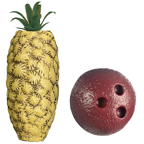 Pineapple Bowling Game Set, Includes 2 Balls & 10 Pins Image #2