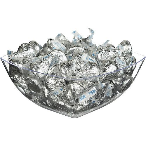 Silver Milk Chocolate Hershey's Kisses, 16oz Image #2
