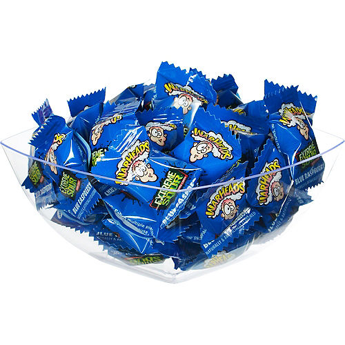 Extreme Sour Blue Warheads Candy, 16oz - Blue Raspberry Image #2