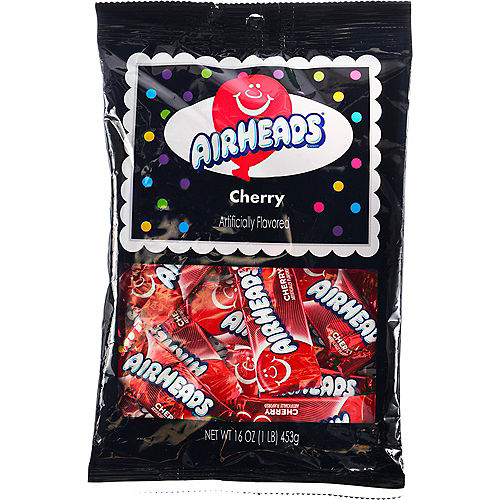 Red Airhead Mini Bars, 16oz - Cherry Image #1