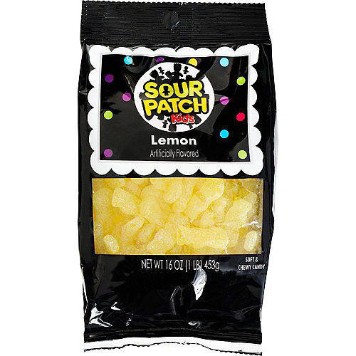 Yellow Sour Patch Kids, 16oz - Lemon Image #1