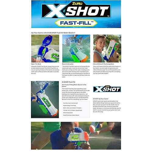 Zuru Z-Shot Fast Fill Water Blaster, 24oz, 30ft Range Image #5