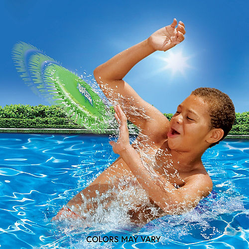 Aqua Saucer Splash Disk Pool Toy, 6in Image #1