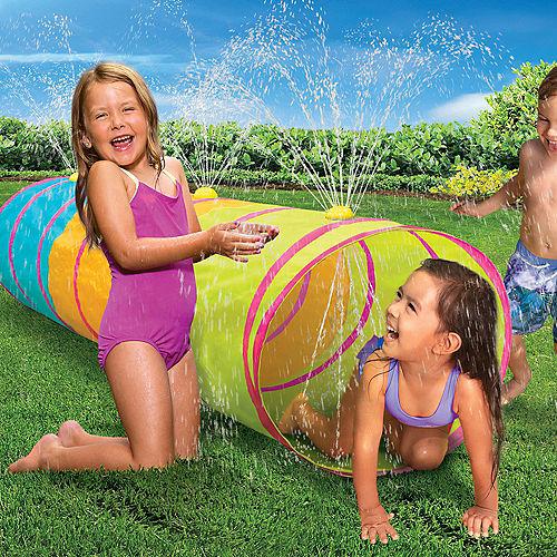 Fun Run Sprinkle 'N Splash Tunnel, 6ft x 6ft Image #1