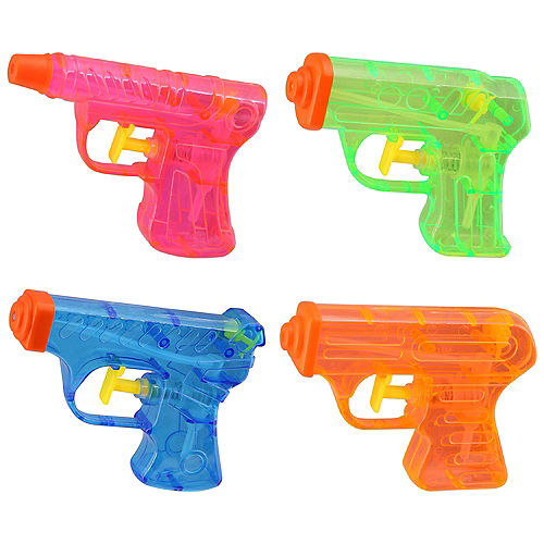 Water Pistols, 4in x 3in, 4ct Image #1