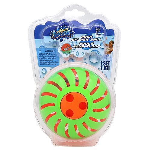 Aqua Splash Game Set, Includes Aqua Splash Ball, 50 Water Balloons, & Fill Nozzle Image #1