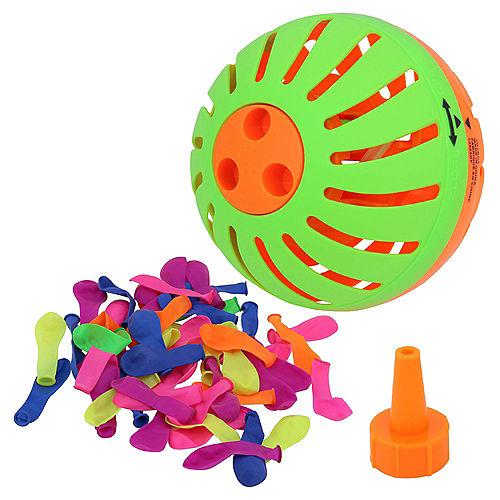 Aqua Splash Game Set, Includes Aqua Splash Ball, 50 Water Balloons, & Fill Nozzle Image #3