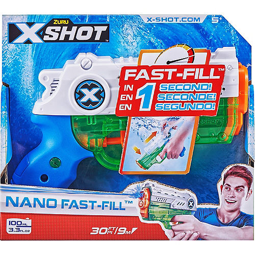 Zuru X-Shot Fast Fill Water Blaster, 3.3oz, 30ft Range Image #1