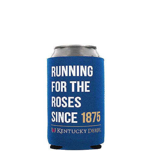 Kentucky Derby Running for the Roses Can Coozie Image #1