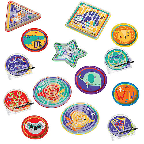 So Cool Maze Puzzles 48ct Image #1