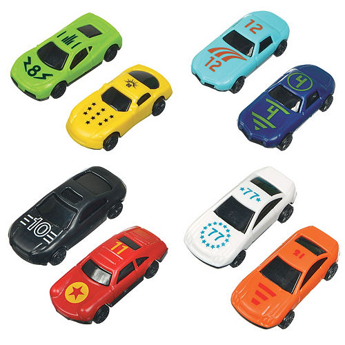 Die-Cast Race Cars 24ct Image #1