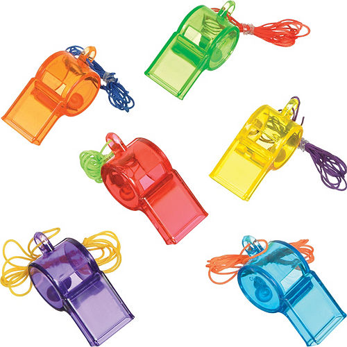 Translucent Whistles 24ct Image #1