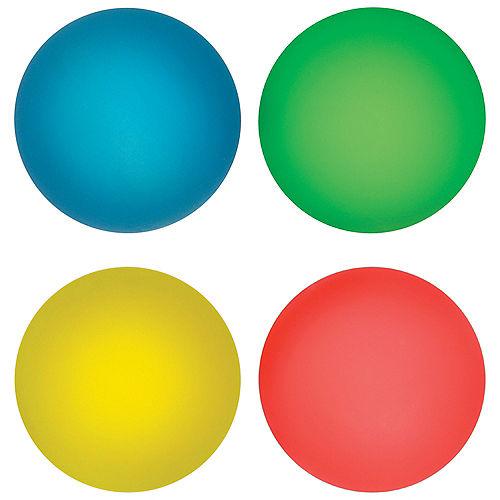 Neon Icy Bounce Balls 8ct Image #1