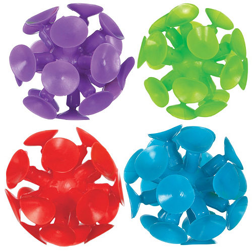 Suction Cup Balls 8ct Image #1