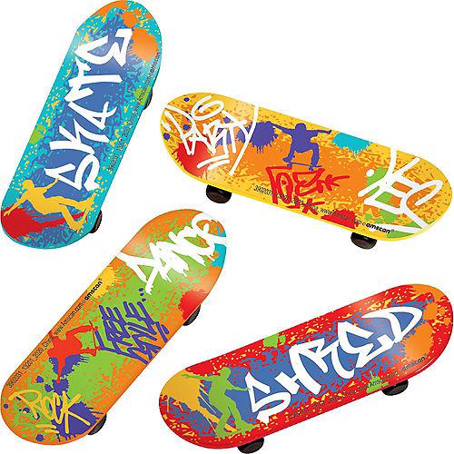 Graffiti Finger Skateboards 24ct Image #1