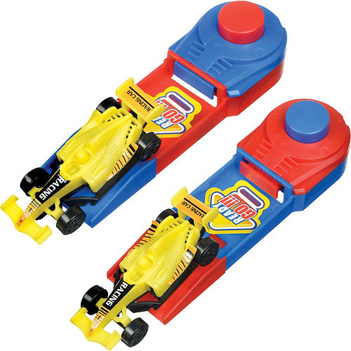 Track Racer Cars with Launchers 8ct Image #1