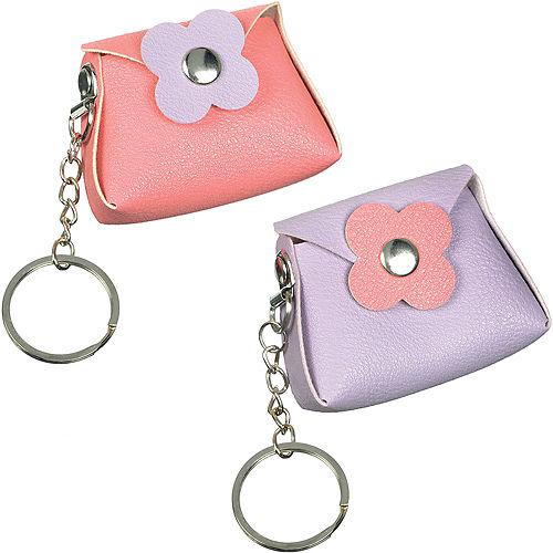 Mini Purse Keychains 8ct Image #1