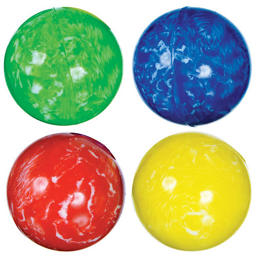 Marbled Bounce Balls 8ct Image #1