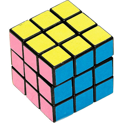 Pastel Puzzle Cubes 12ct Image #1