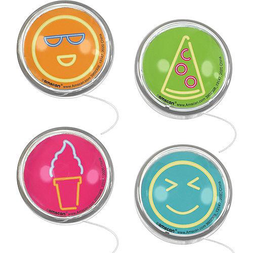 Smiley & Snack Yo-Yos 8ct Image #1