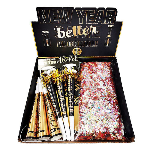 Kit for 6 - New Year Better Alcohol Party Kit Image #2