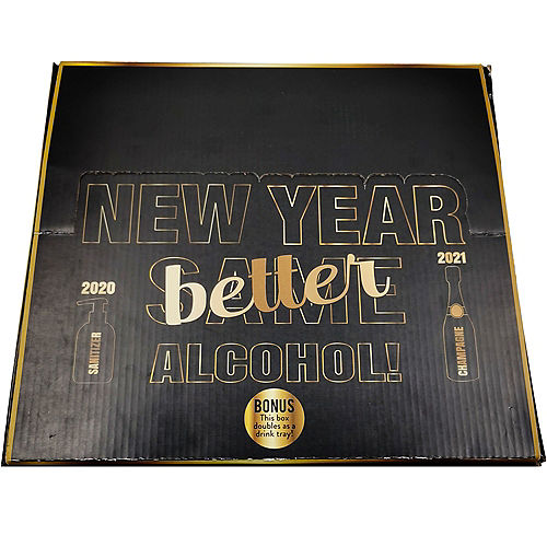 Kit for 6 - New Year Better Alcohol Party Kit Image #4