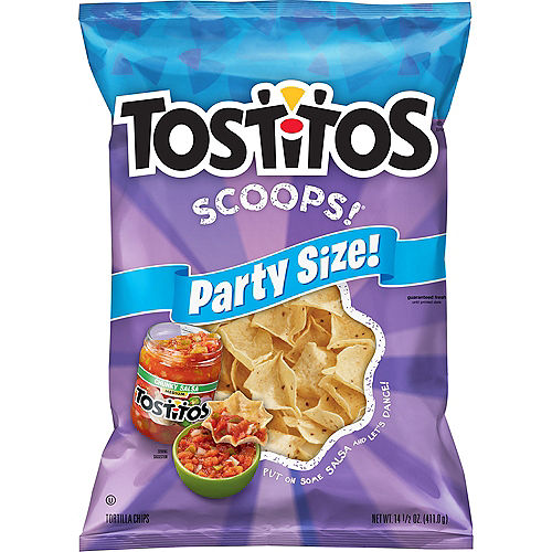 Tostitos Scoops! Tortilla Chips, Party Size, 14.5oz Image #1