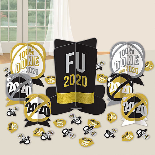FU 2020 New Year's Table Decorating Kit, 31pc Image #1