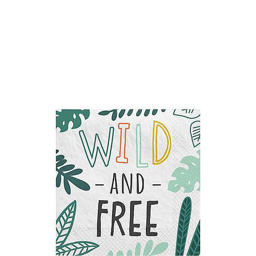 Get Wild Jungle Paper Beverage Napkins, 5in, 16ct Image #1