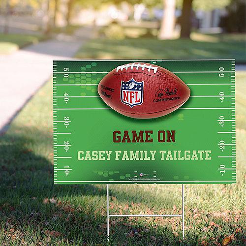 Custom NFL Drive Yard Sign Image #1