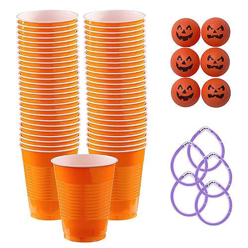 Jack-o'-Lantern Halloween Pong Game Kit Image #1