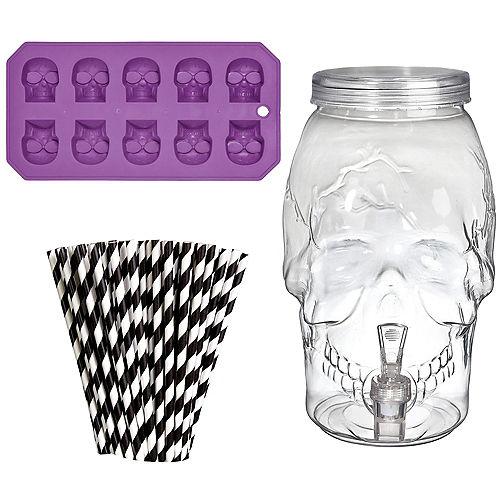 Skull Halloween Drink Dispenser Kit Image #1